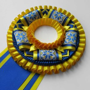 Наградная розетка «Славянка-1»