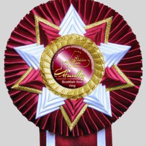 Наградная розетка «Созвездие-2»