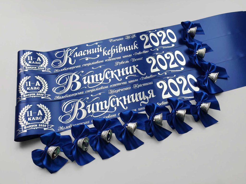 Синие ленты Выпускник 2020
