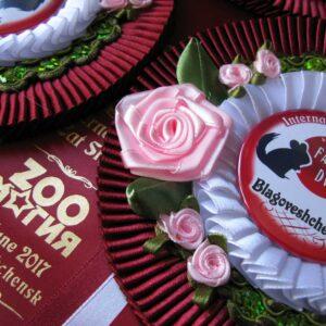 Наградная розетка Троянда-2