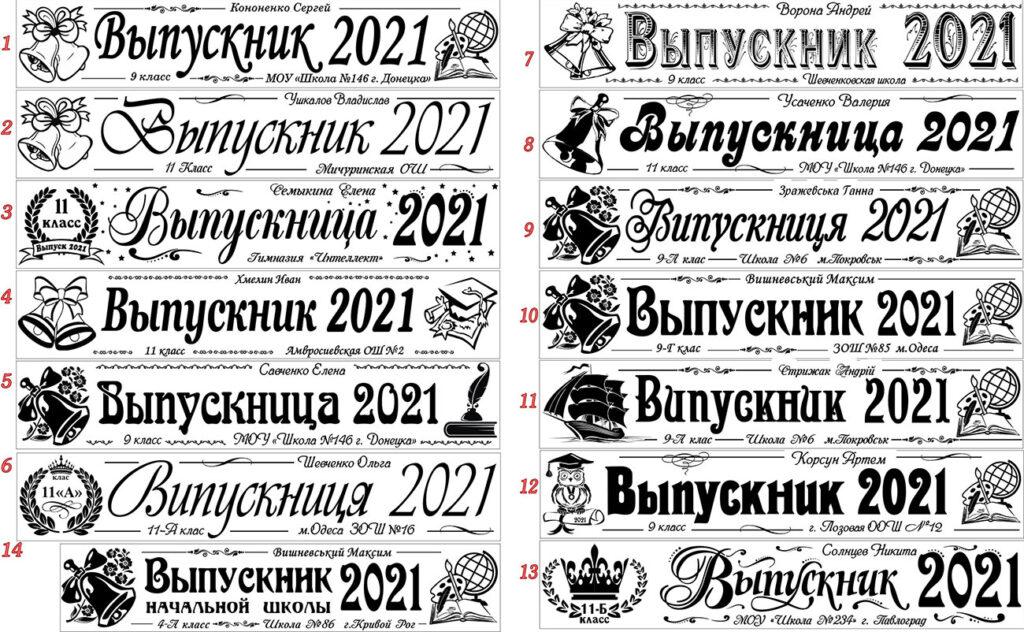 Шаблоны шрифтов Мастерской Долина Грёз